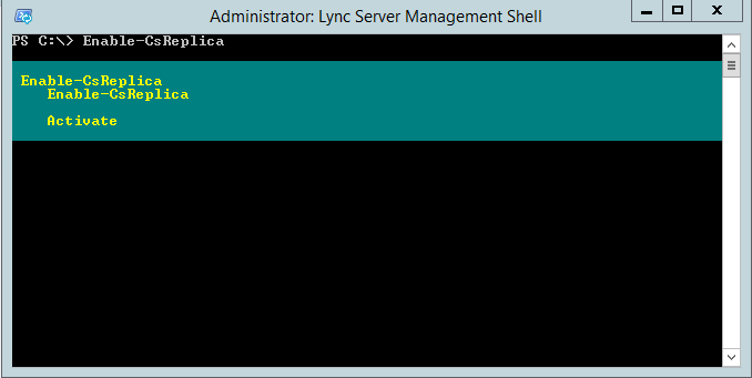 lync_management_shell_enable_replica