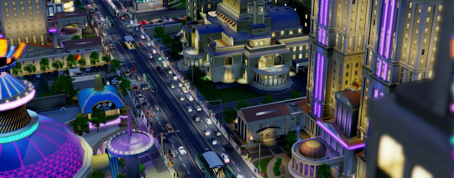 SimCity-night-boulevard