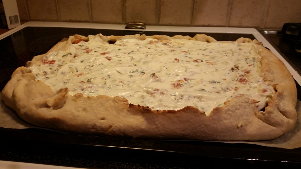 Recept: Tacopizza