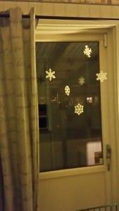 Snöflingor av pärlor