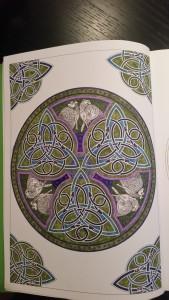 Målarböcker för vuxna, keltiska mönster