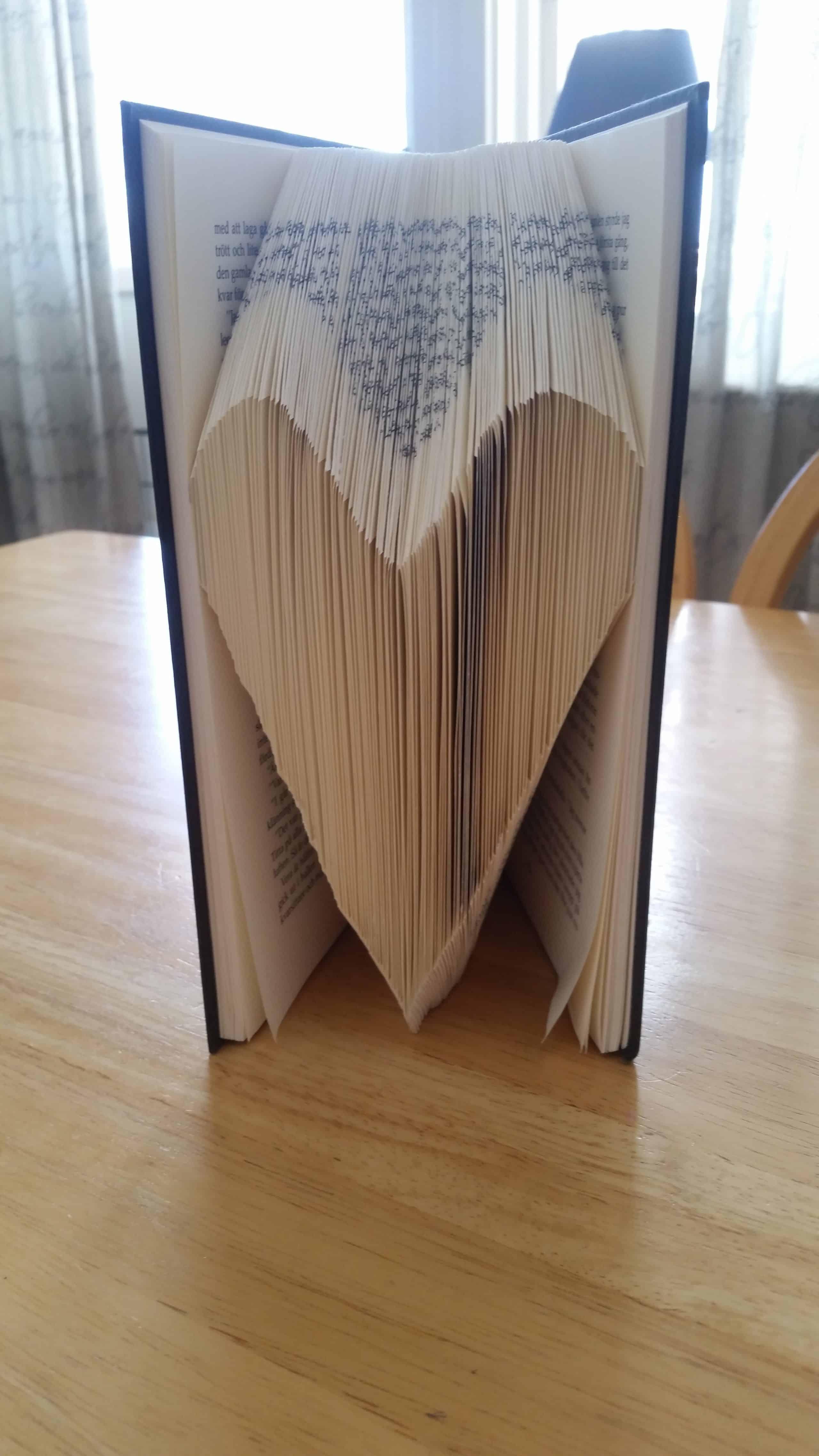 Pyssel av bok del 3. Själva boken.