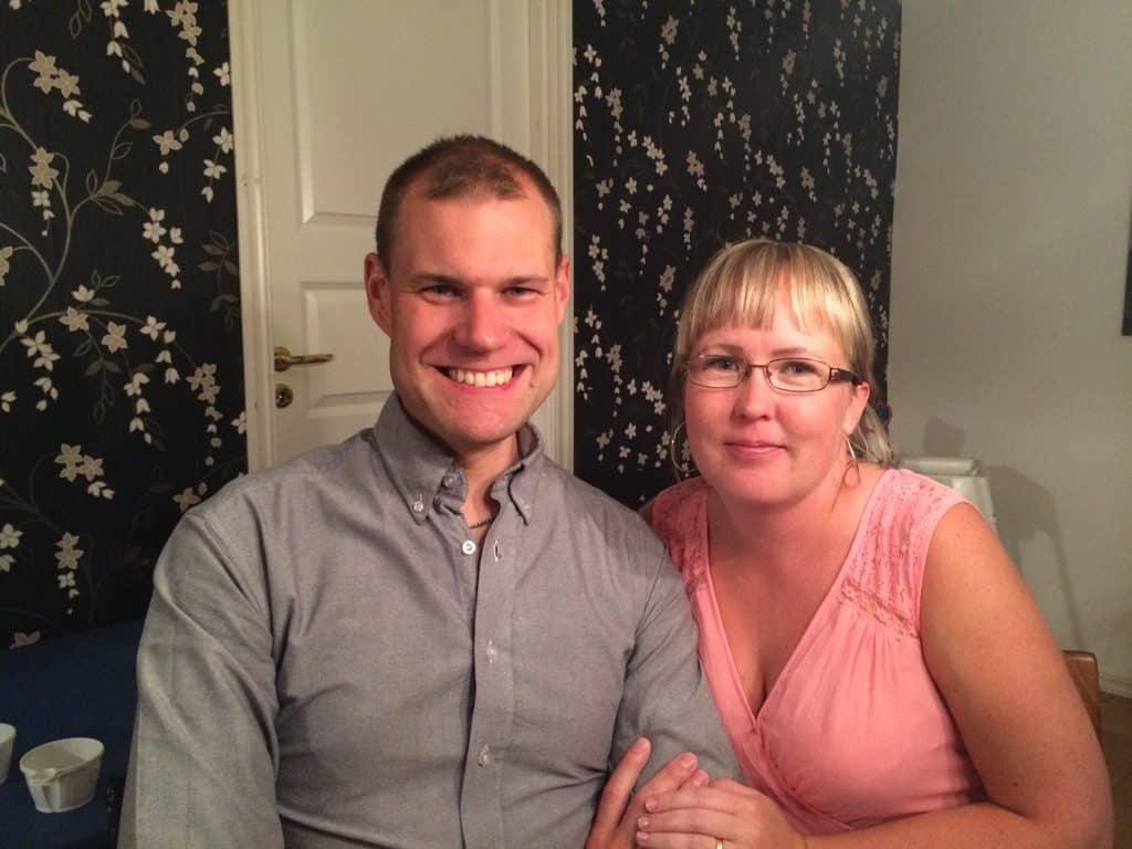 Daniels 35-årsfest, Daniel & Sanne