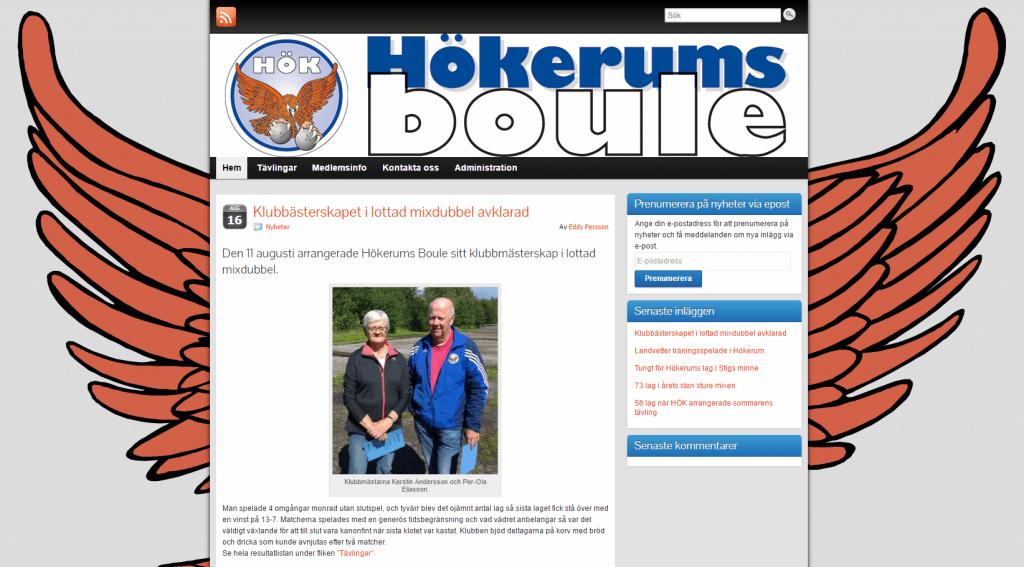 Hökerums Boule - www.hokerum.se