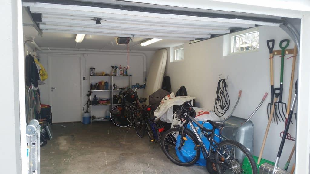 Renovering av garaget
