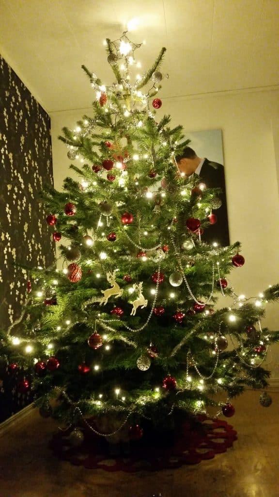 Innebandy, julgran och julskinka