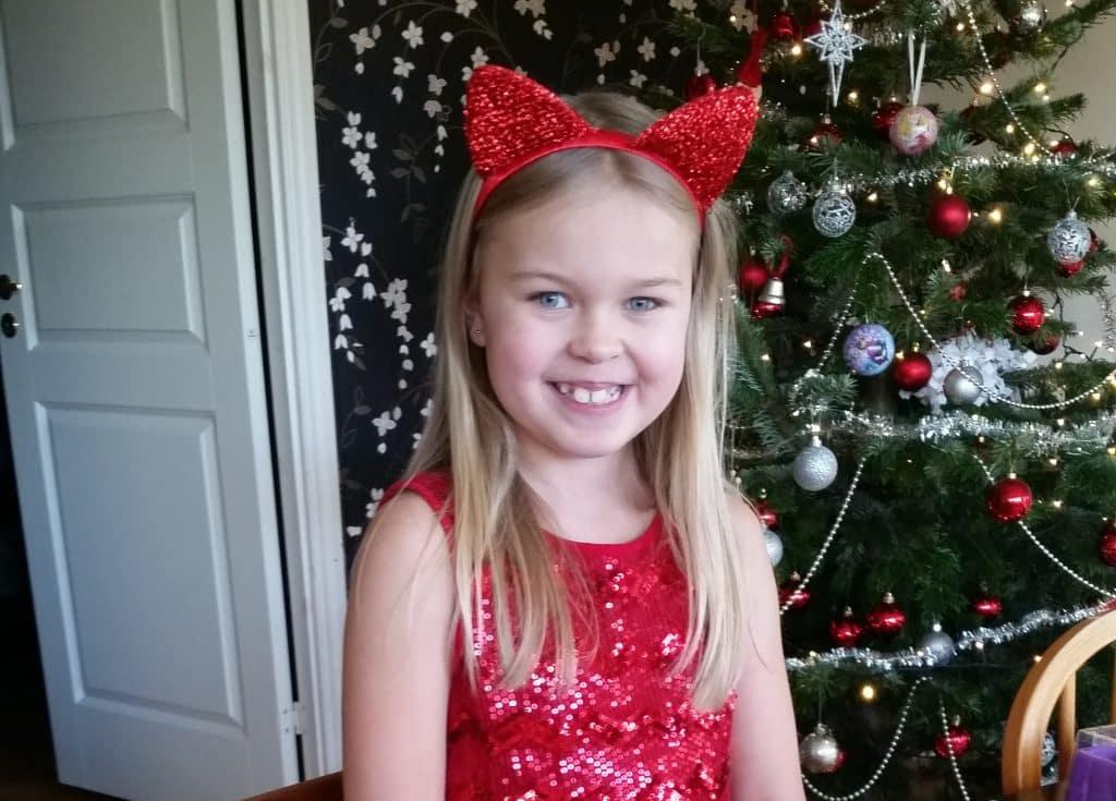 Josefin 8 år, 23 december 2016
