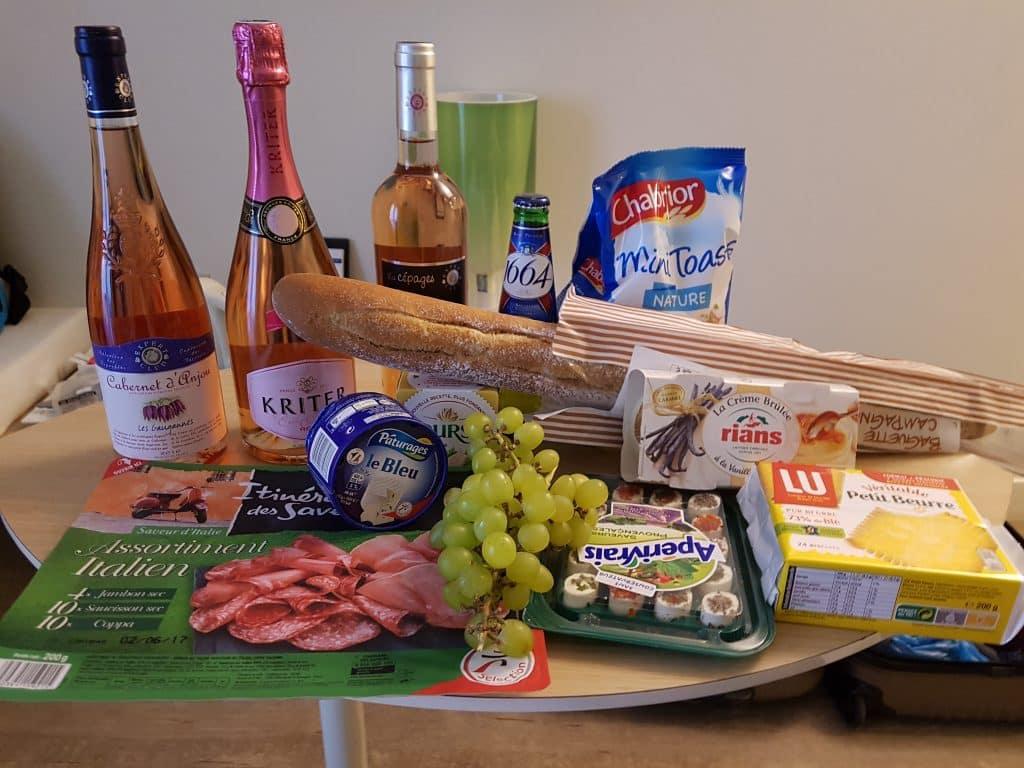 Semester och bröllopsdag i Paris, vår bröllopsdag, ostbricka