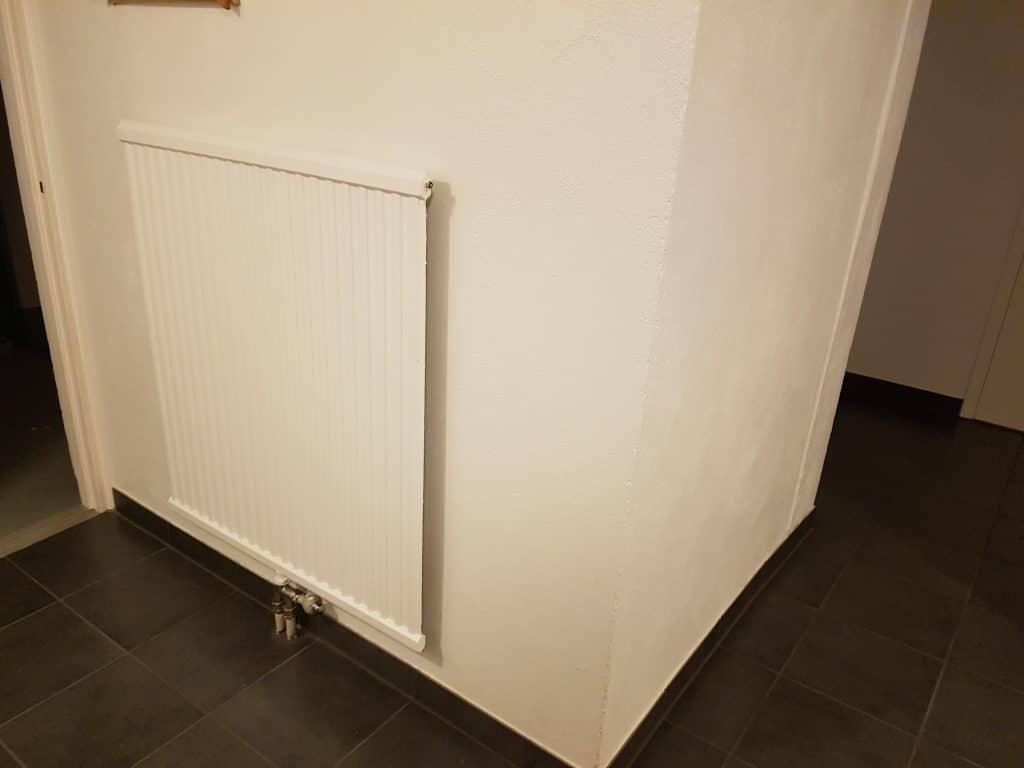 Nya radiatorer i källaren