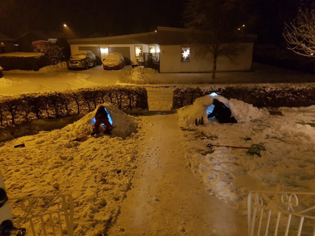 Vi välkomnar snön
