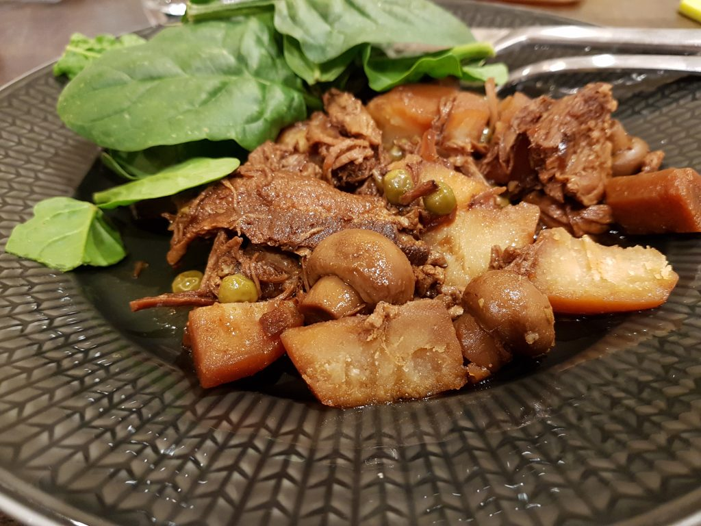 Pulled porkgryta i slow cooker
