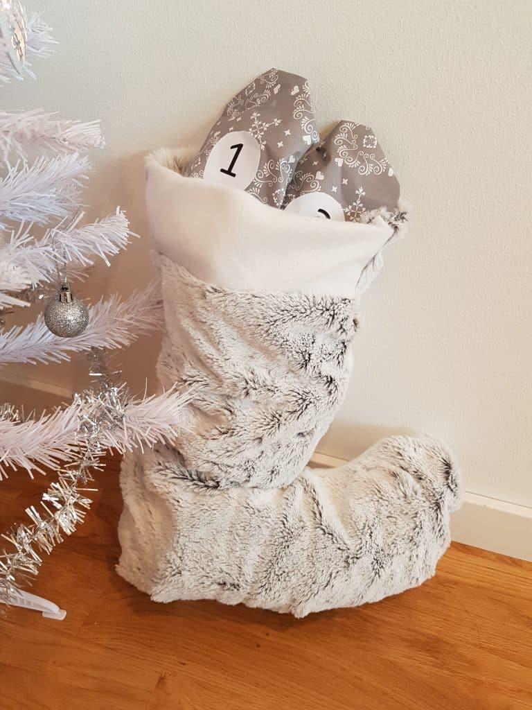 Julpyssel, julstrumpa