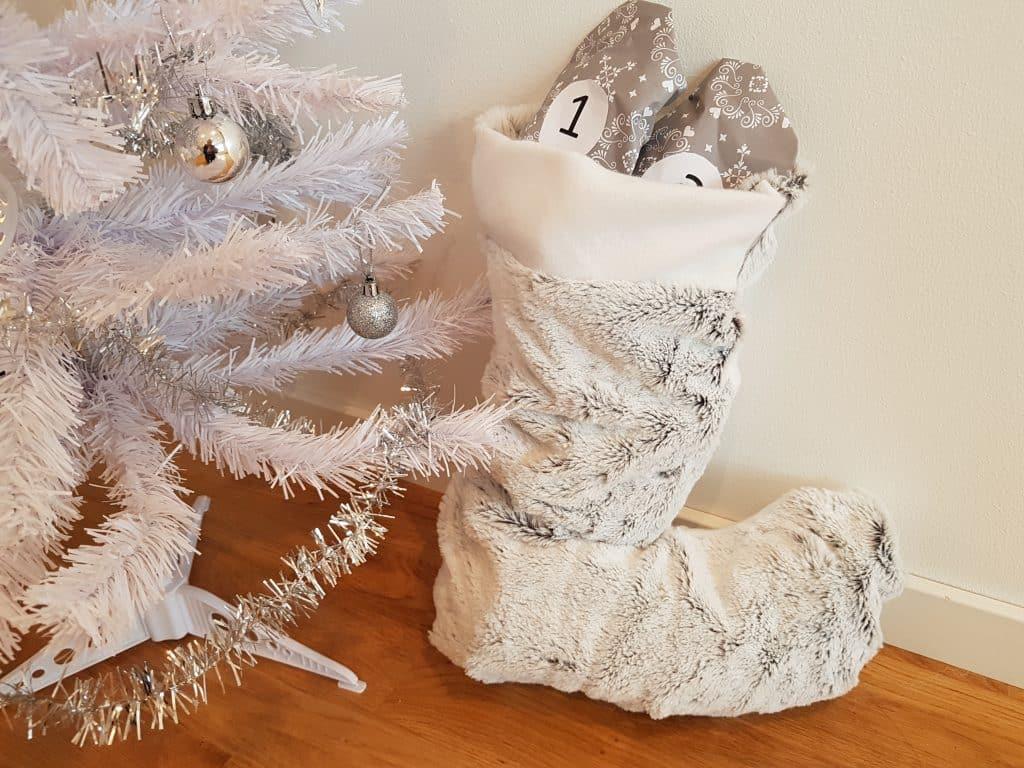Julpyssel julstrumpa, Det färdiga resultatet