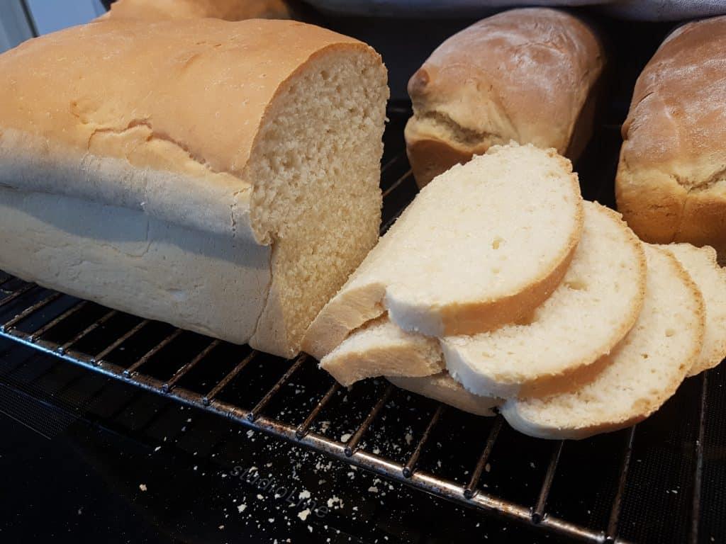 baka bröd med köksmaskin