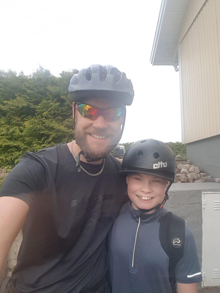 Sommarbucketlista med familjen. Cykeltur.