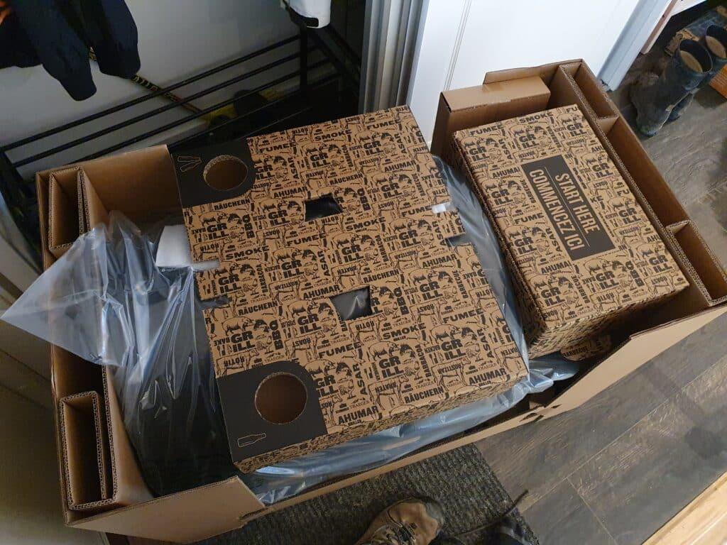 Traeger Pro 575 D2, förpackning