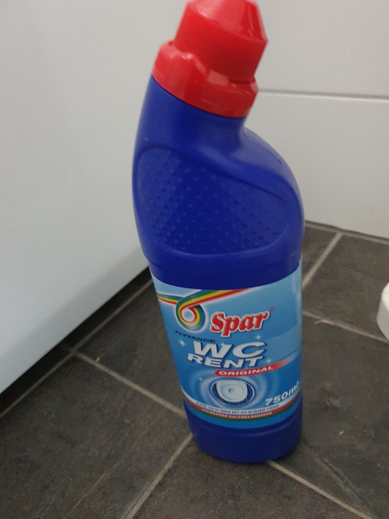 Ultimata rengöringsmedlet till dusch