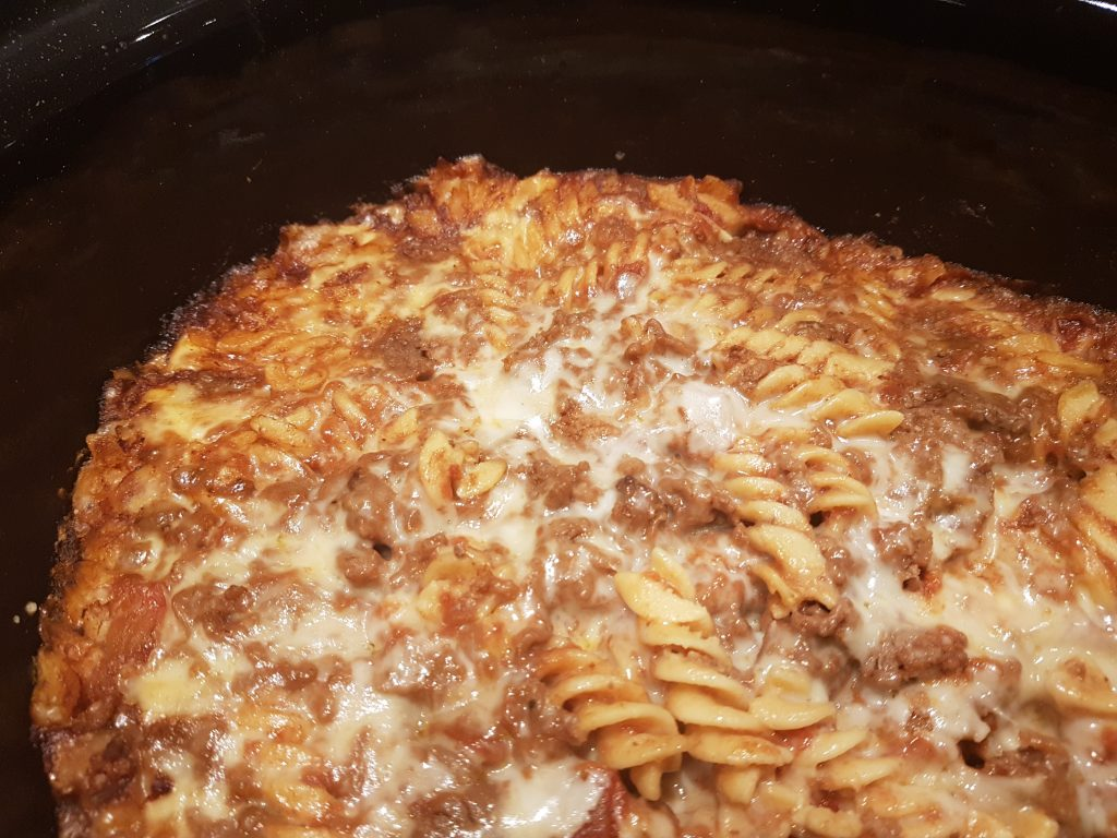 Lasagne i slow cooker