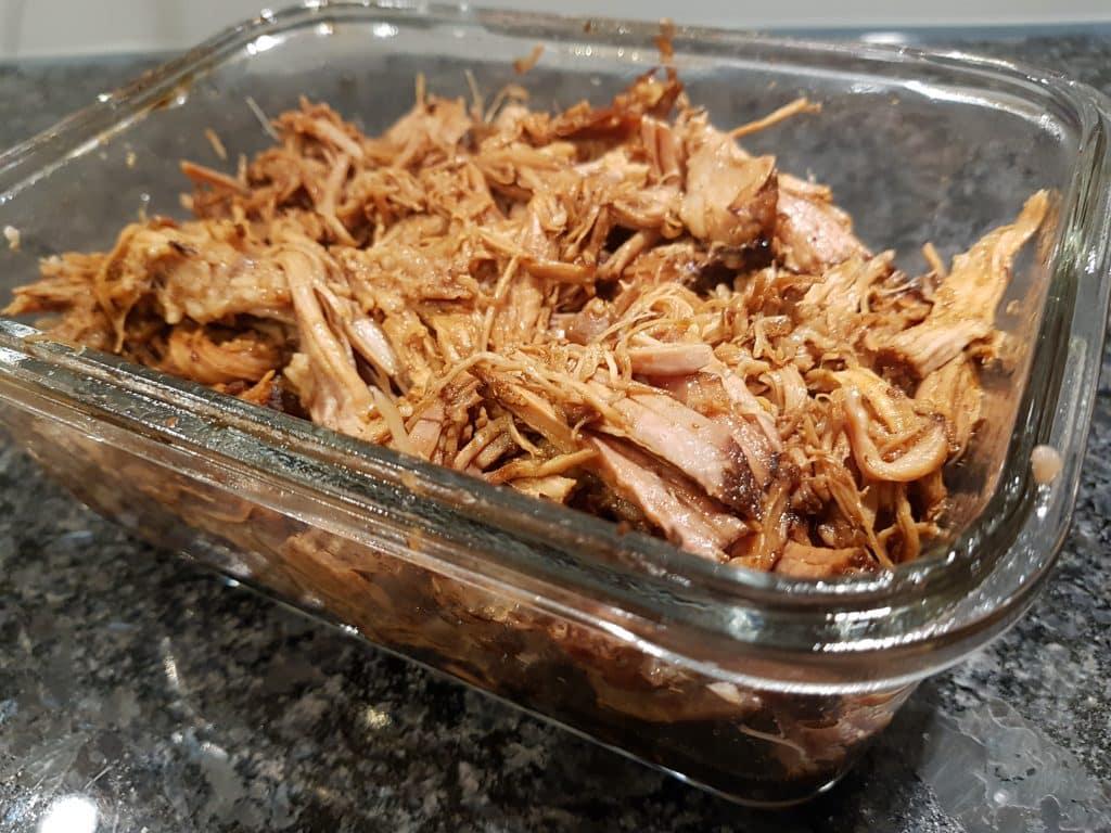 Pulled pork i slow cooker